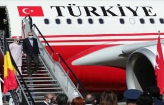 NATO zirvesi için Erdoğan Brüksel'de