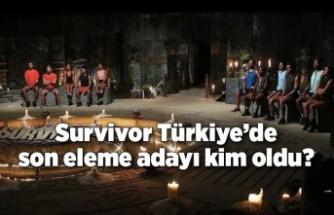 Survivor Türkiye'de son eleme adayı kim oldu?