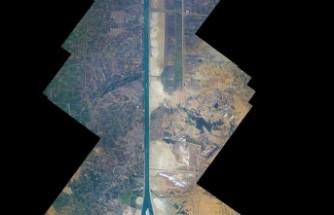 Süveyş Kanalı, uzaydan görüntülendi