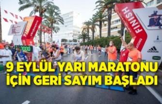 9 Eylül Yarı Maratonu için geri sayım başladı