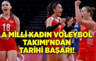 A Milli Kadın Voleybol Takımı'ndan tarihi başarı!