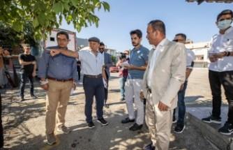 Başkan Soyer Acil Çözüm Ekipleri'nin çalışmalarını inceledi