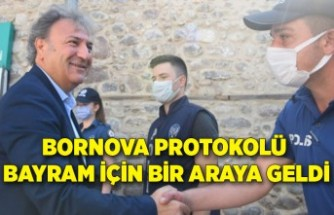 Bornova protokolü bayram için bir araya geldi