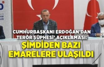 Cumhurbaşkanı Erdoğan'dan 'yangınlarda terör şüphesi' açıklaması