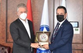 ESAD'dan İZTO Başkanına ziyaret