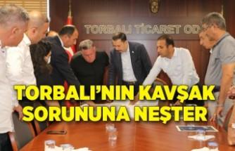 İzmir'i Denizli ve Aydın'a bağlayan yola uçan kavşak