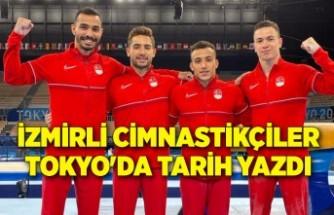 İzmirli cimnastikçiler Tokyo'da tarih yazdı