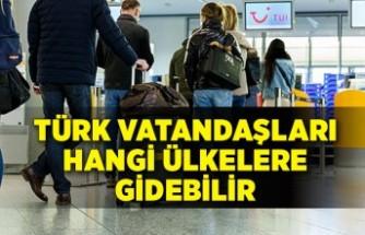 Koronavirüs aşısı olan Türk vatandaşları hangi ülkelere gidebilir