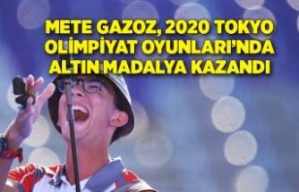 Mete Gazoz, 2020 Tokyo Olimpiyat Oyunları'nda altın madalya kazandı
