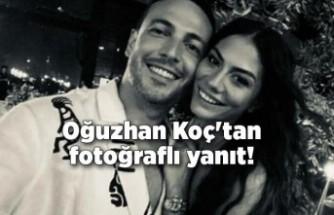 Oğuzhan Koç'tan Demet Özdemir sorusuna fotoğraflı yanıt!