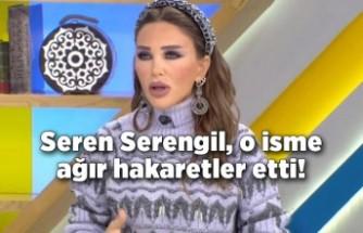 Seren Serengil, o isme ağır hakaretler etti