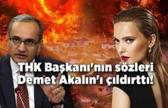 """THK Başkanı'nın sözleri Demet Akalın'ı çıldırttı! """"Yazık günah bize"""""""