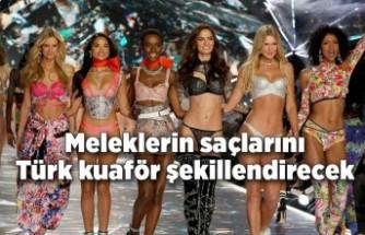 Victoria's Secret meleklerinin saçlarını Türk kuaför şekillendirecek