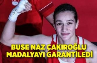 Buse Naz Çakıroğlu madalyayı garantiledi