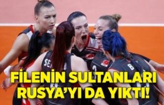 Filenin Sultanları, Rusya Olimpiyat Komitesi'ni yendi