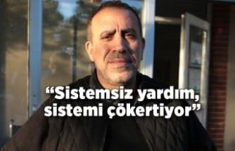 Haluk Levent Bodrum'dan paylaştı: Sistemsiz yardım, sistemi çökertiyor