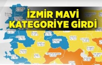 İzmir mavi kategoriye girdi