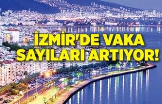 İzmir'de vaka sayıları artıyor!