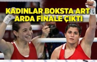 Kadınlar boksta art arda finale çıktı