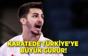 Karatede Türkiye'ye büyük gurur!