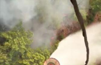 Köyceğiz'deki yangında 7'nci gün
