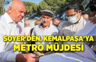 Soyer'den Kemalpaşa'ya metro müjdesi