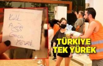 Türkiye tek yürek: 'Kalk ayağa koca yörük'