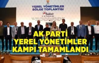 AK Parti Yerel Yönetimler Kampı tamamlandı