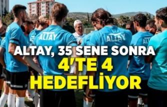 Altay, 35 sene sonra 4'te 4 hedefliyor