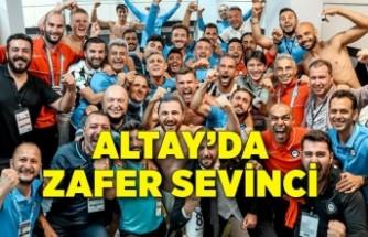 Altay'da zafer sevinci