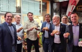 Bolsonaro'ya eşlik eden 4'üncü kişi de pozitif çıktı