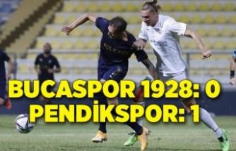 Bucaspor 1928: 0 - Pendikspor: 1
