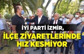 İYİ Parti İzmir, ilçe ziyaretlerinde hız kesmiyor