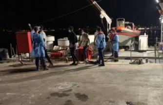İzmir açıklarında 34 kaçak göçmen kurtarıldı