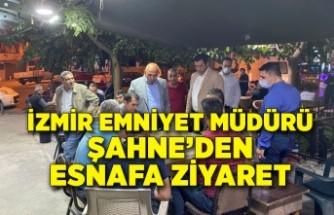 İzmir Emniyet Müdürü Şahne, Buca'yı ziyaret etti