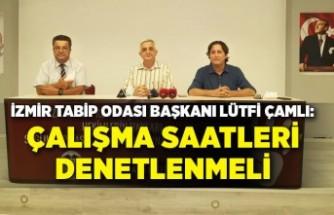 İzmir Tabip Odası, sağlık alanındaki sorunları açıkladı