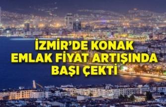 İzmir'de Konak emlak fiyat artışında başı çekti