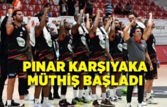 Pınar Karşıyaka kaldığı yerden
