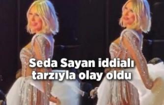 Seda Sayan iddialı tarzıyla olay oldu