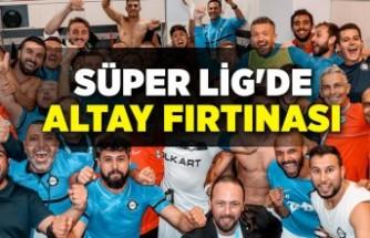 Süper Lig'de Altay fırtınası