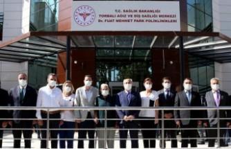 Torbalı Ağız ve Diş Sağlığı Merkezi'ne Dr. Fuat Mehmet Park'ın adı verildi