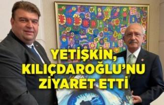 Yetişkin, Kılıçdaroğlu'nu ziyaret etti
