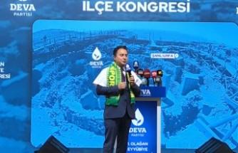 Ali Babacan, Şanlıurfa'da partisinin kongresine katıldı