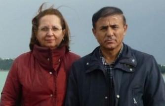 Emekli astsubay ve eşi, toprağa verildi
