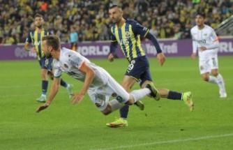 Fenerbahçe: 1 - Aytemiz Alanyaspor: 2
