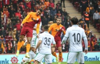 Galatasaray: 1 - İttifak Holding Konyaspor: 0