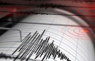 Gaziantep'te 3.5 büyüklüğünde deprem