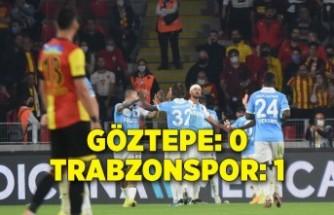 Göztepe - Trabzonspor: 0-1