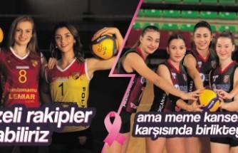 Göztepe ve Karşıyaka meme kanserine karşı bir araya geldi