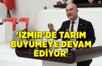 İzmir'de tarım büyümeye devam ediyor'